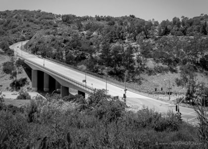 MULHOLLAND BRIDGE DECK • HAER PHOTOGRAPHY