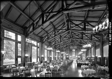 THE AHWAHNEE DINING ROOM • HABS