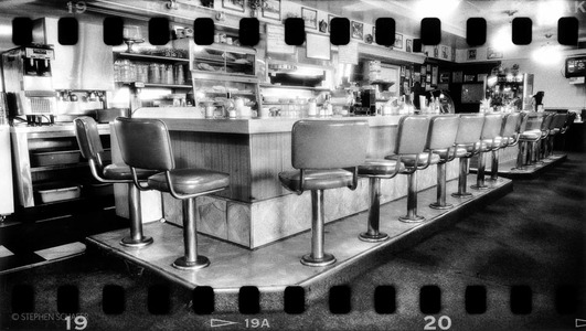 Saugus Cafe, Newhall, CA.