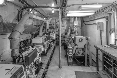 RV Polaris engine Room • HAER