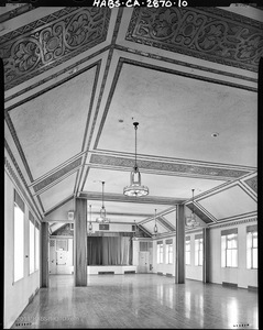 PACIFIC TELEPHONE BUILDING AUDITORIUM, 26th FLOOR • HABS