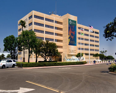 PORT OF LONG BEACH ADMIN BUILDING • HABS (COLOR)
