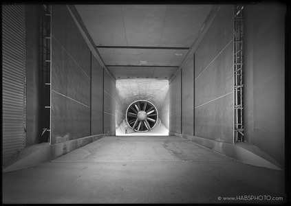 NASA 7 X 10 FOOT WIND TUNNEL DOWNSTREAM