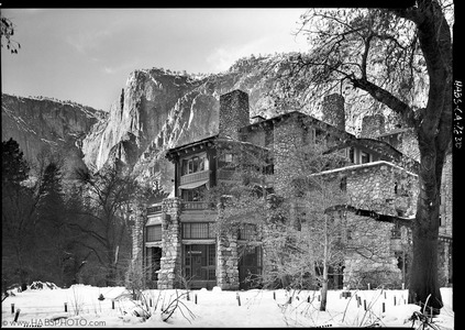 THE AHWAHNEE IN SNOW • HABS PHOTOGRAPHY